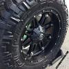 20x10 Fuel Hostage Black - 35x12.50r20 Nitto Trail Grappler