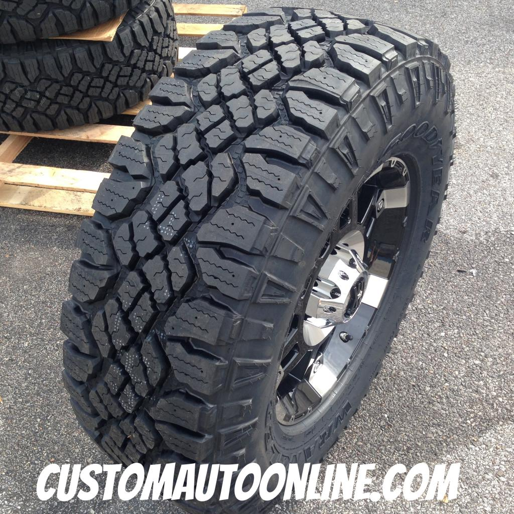 cooper STT vs nankang FT9 17x8-xd-series-spy-797-black-wheel-lt2857017-goodyear-wrangler-duratrac-mt-2