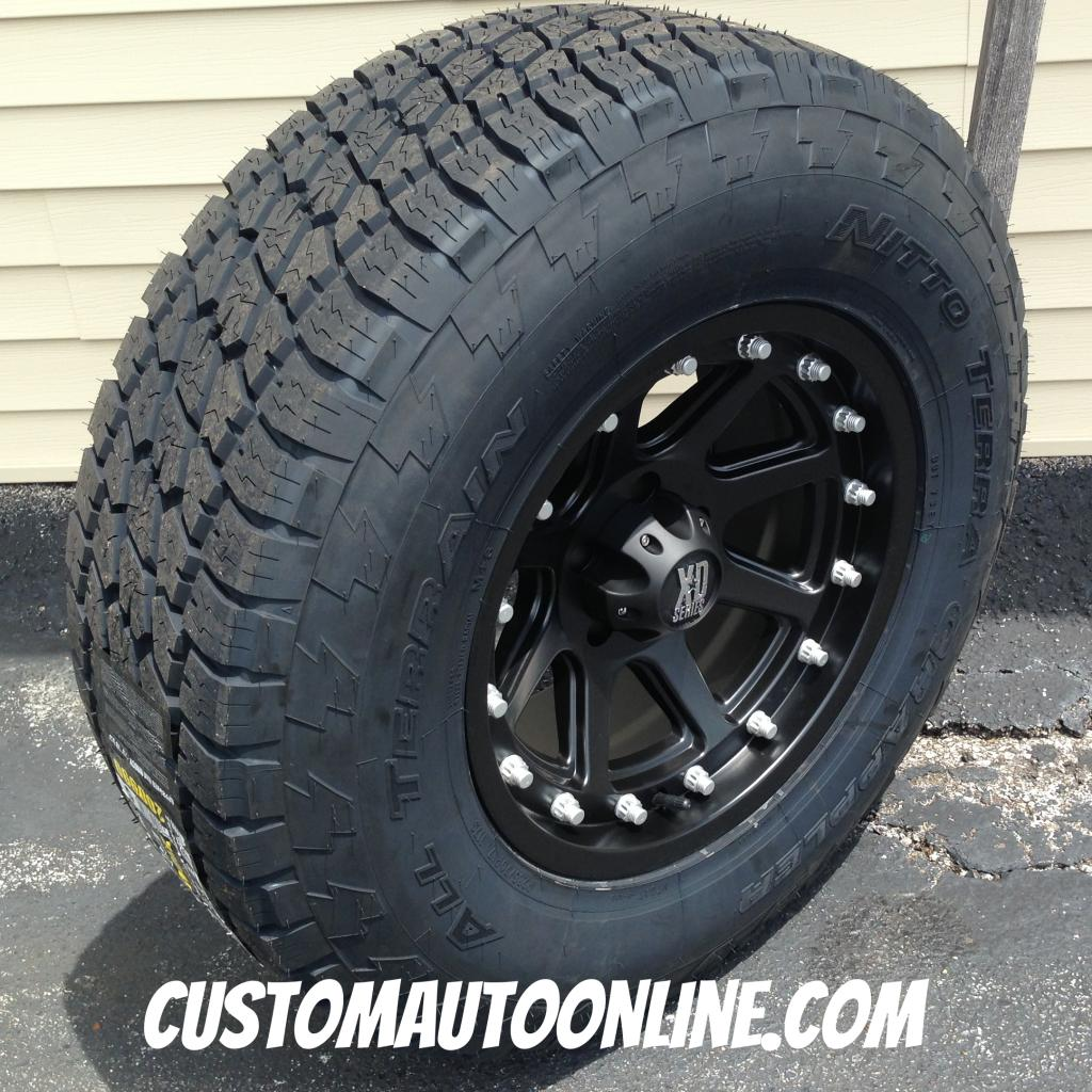 All terrain truck tires