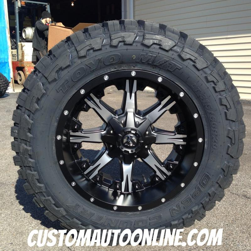 295 60r20 Toyo Open Country Mt >> Guaranteed Lowest Price on Fuel Offroad Wheel and Toyo Tire Package Deals