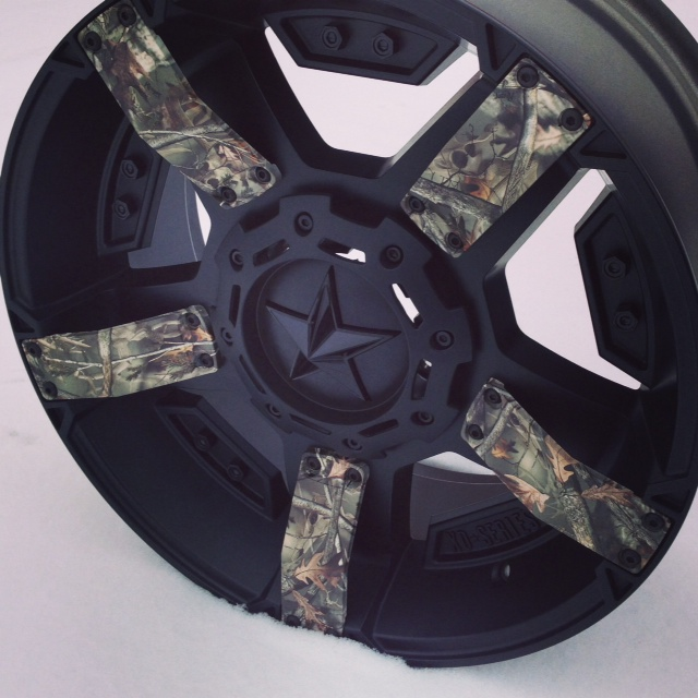 Rent To Own Auto Center >> XD Rockstar 2 811 Black and Camo by KMC - Only the best ...