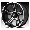 XD Crank 801 - Matte Black/Machined