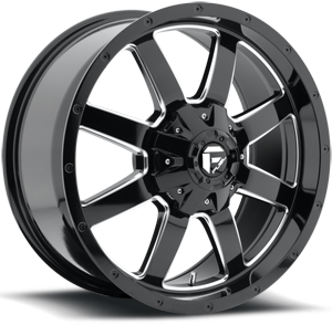 Fuel Frontier D535 - Black/Milled