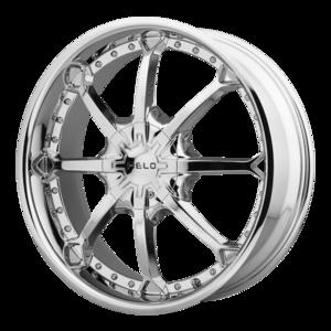 Helo Wheels HE871 - Chrome