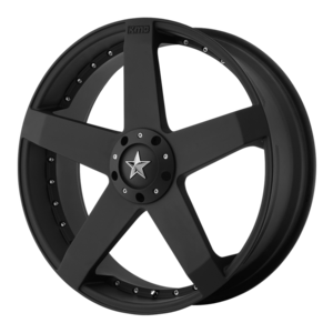 KMC Wheels KM775 Rockstar Car - Black