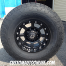 17x9 XD Strike 807 Black - LT305/70r17 Nitto Terra Grappler