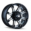 Ion Alloy 196 - Black and Machined