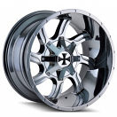 Cali Offroad Twisted 9102 - PVD Chrome