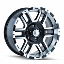 Ion Alloy 179 - Black and Machined