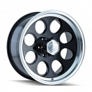 Ion Alloy 171 - Black with Machined Lip
