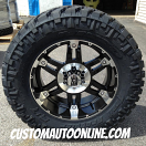 20x9 XD Spy 797 Black - 35x12.50r20 Nitto Trail Grappler