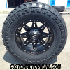 17x9 Fuel Hostage D531 Black wheel - LT285/70r17 AMP Terrain Master MT tire