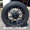 20x9 Moto Metal MO970 Black wheel - 275/60r20 Cooper Discoverer HT Plus