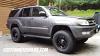 17x9 Fuel Hostage D531 Matte Black wheel - 285/70r17 Nitto Terra Grappler tire - Toyota 4Runner