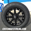 20x9 KMC XD Addict 798 Black wheel - 275/60r20 Nitto Terra Grappler G2