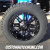 20x10 Fuel Hostage D531 Black wheel - 35x12.50r20 Nitto Terra Grappler G2