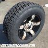 18x9 KMC XD Rockstar II 811 matte black and CAMO wheels - 275/65r18 Nitto Terra Grappler G2 tires