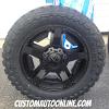 20x9 KMC XD Rockstar II RS2 811 black wheel - LT295/55r20 Toyo Open Country MT
