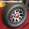 17x9 XD Addict 798 Black/Machined - 265/70r17 Nitto Terra Grappler
