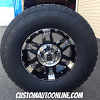 17x8 XD Spy 797 Black Wheel - 285/70r17 Nitto Terra Grappler G2
