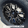 18x9 Helo HE879 Black wheel - LT285/65r18 Nitto Terra Grappler G2