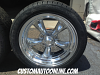 17x7 and 17x8 American Racing Torq Thrust 2 polished aluminum with 225/45r17 and 245/45r17 Milestar tires