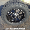 20x9 Fuel Maverick D538 wheel - LT295/60r20 Toyo Open Country AT2