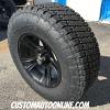 18x9 XD Crank 801 matte black wheel - LT295/70r18 Nitto Terra Grappler G2