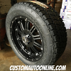 20x9 XD Hoss 795 black wheel - 275/55r20 Nitto Terra Grappler G2