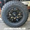 20x12 Fuel Hostage D531 matte black wheel - 38x15.50r20 Toyo Open Country MT
