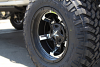 XD Rockstar III XD827 matte black wheel with chrome inserts