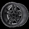XD Rockstar III 827 matte black wheel with the inserts removed - Rockstar 3