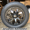 20x9 Helo HE878 matte black wheel with 305/50r20 Nitto NT420S tire