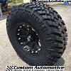 17x9 XD Addict 798 Black wheel - 35x12.50r17 Nitto Trail Grappler MT tire