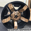 KMC XD Rockstar II RS2 XD811 black with camo - Pure Dawn camo