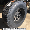 20x12 XD Buck 825 Matte Black with Dark Tint Machined wheel - 37x12.50r20 Nitto Terra Grappler G2