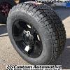 18x9 XD Rockstar II RS2 XD811 matte black wheel - 275/65r18 Nitto Terra Grappler G2
