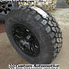 17x9 Helo HE878 matte black wheel - LT285/70r17 Hercules Terra Trac M/T