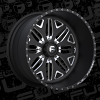 Fuel Forged FF05 Black and Milled Wheel