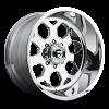 Fuel Forged FF14 Polished wheel