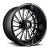 Fuel Forged FF16 Black and Milled wheel