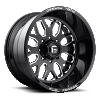 Fuel Forged FF19 Black and Milled wheels