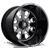 Fuel Forged FF24 black and milled wheels