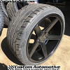 20x10 KMC District KM685 black wheel - 275/35r20 Nitto NT555 G2