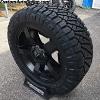 20x9 XD Rockstar 2 XD811 matte black wheel - LT295/55r20 Nitto Ridge Grappler tire