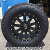 18x9 XD Heist 818 satin black wheel - LT285/65r18 Toyo Open Country AT2 Extreme tire