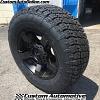 18x9 XD Rockstar 2 811 black with 285/65r18 Nitto Terra Grappler G2