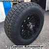 18x9 XD Misfit 800 black wheel - LT285/65r18 Nitto Terra Grappler G2