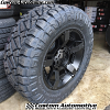 20x9 XD Rockstar 2 811 black wheel - 35x12.50r20 Nitto Ridge Grappler tire