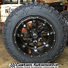 20x14 Fuel Hostage D531 black wheel - LT325/60r20 Nitto Trail Grappler MT